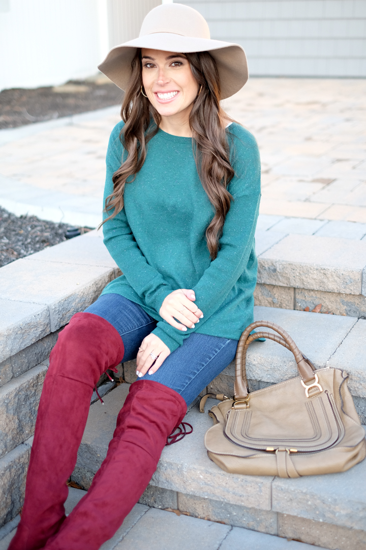 perfect weekend outfit fall/winter outfits mrscasual