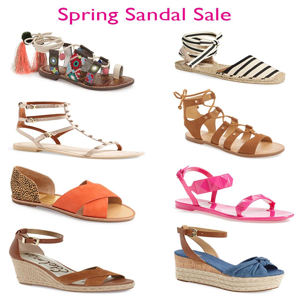 Spring Sandal Sale