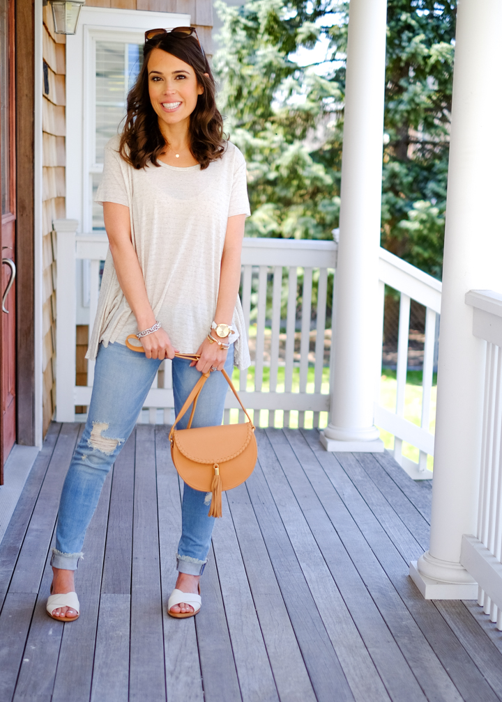 casual weekend style outfit for spring mrscasual fashion blog