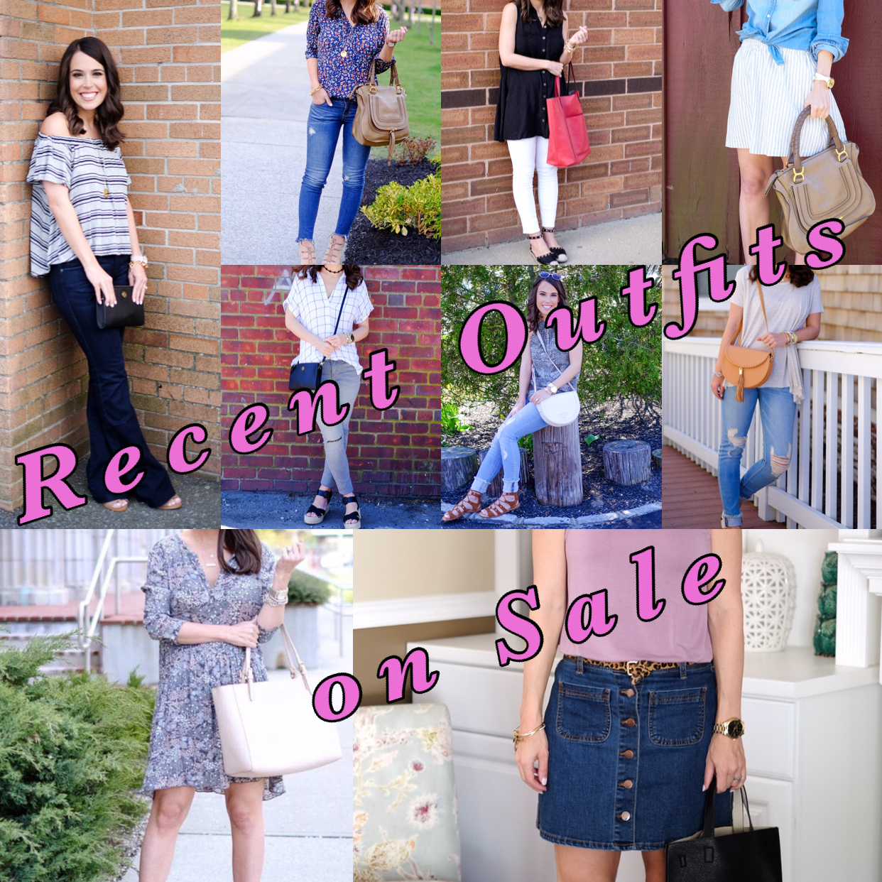 Recent outfits on sale