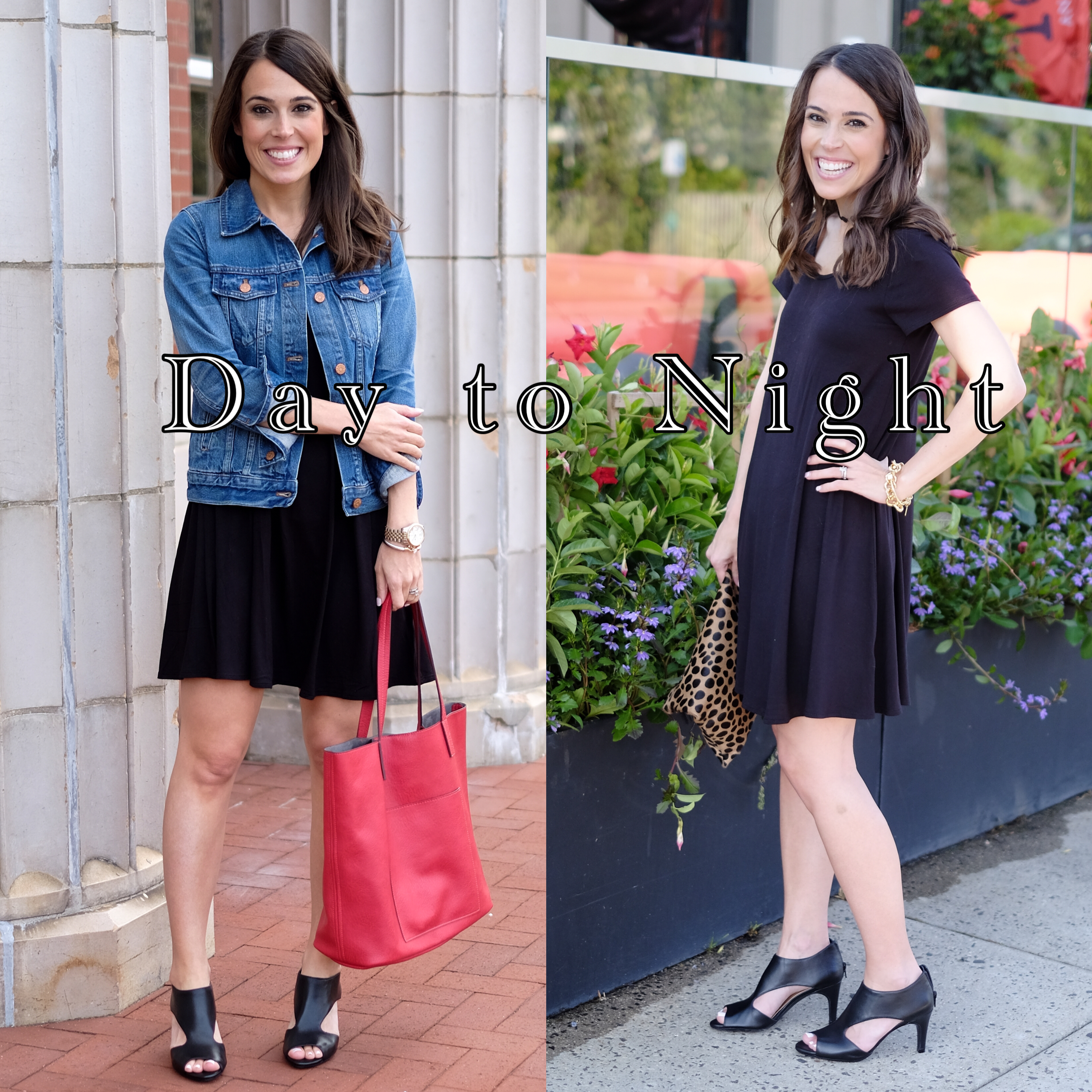 how to take a look from day to night mrscasual fashion blog