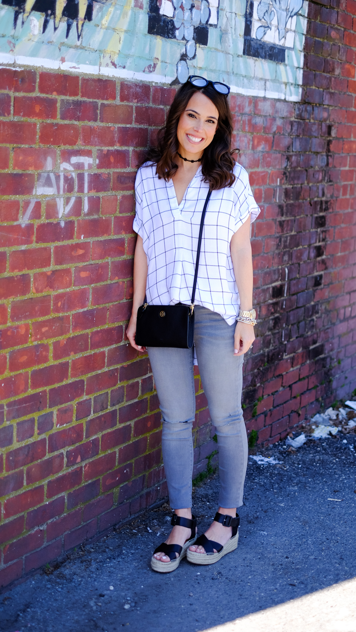 how to wear gray skinny jeans mrscasual