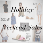 holiday weekend sales mrscasual blog fashion style clothes sale nordstrom jcrew