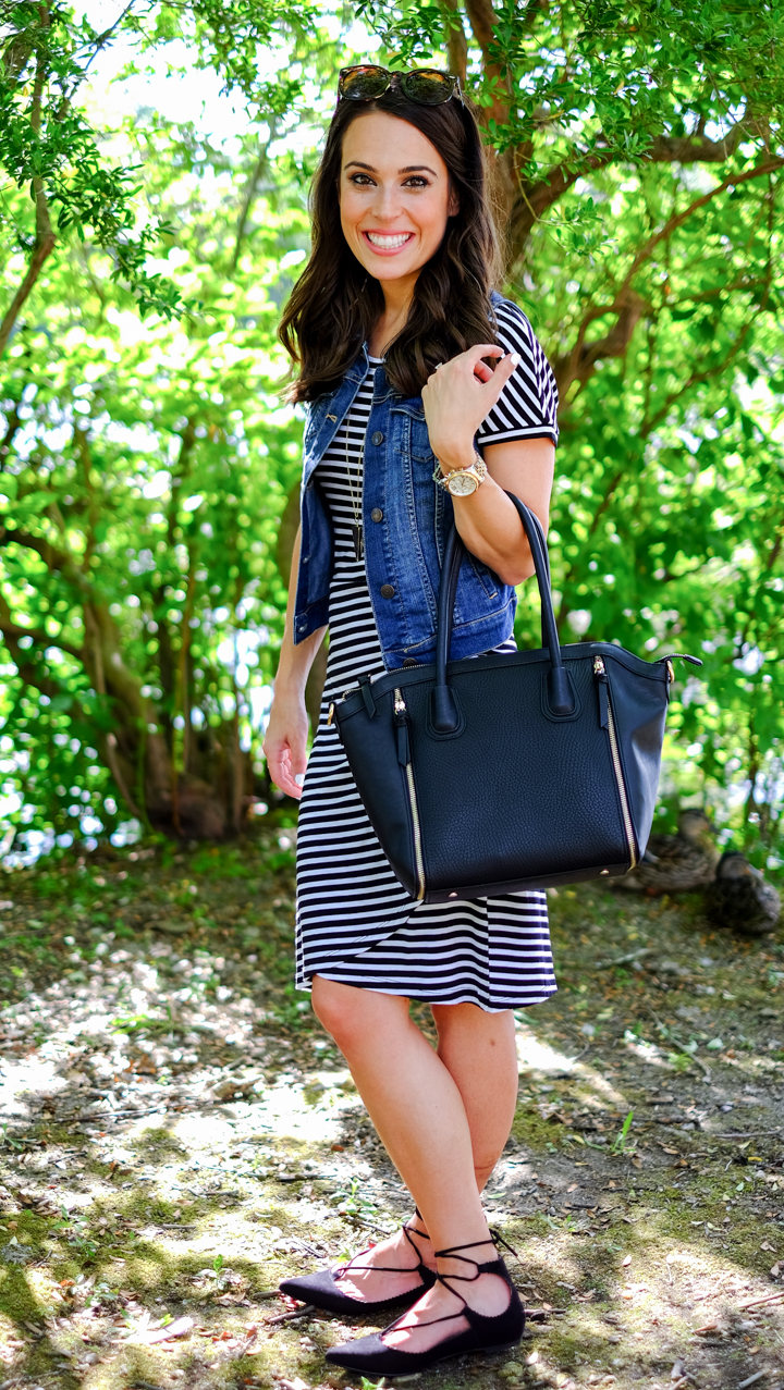 different ways to wear a striped dress mrscasual style blog