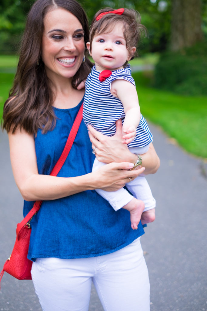 baby girl fourth july outfit