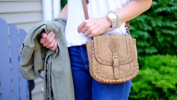 Elle & Jae Gypset 'Ibiza' Vegan Leather Crossbody
