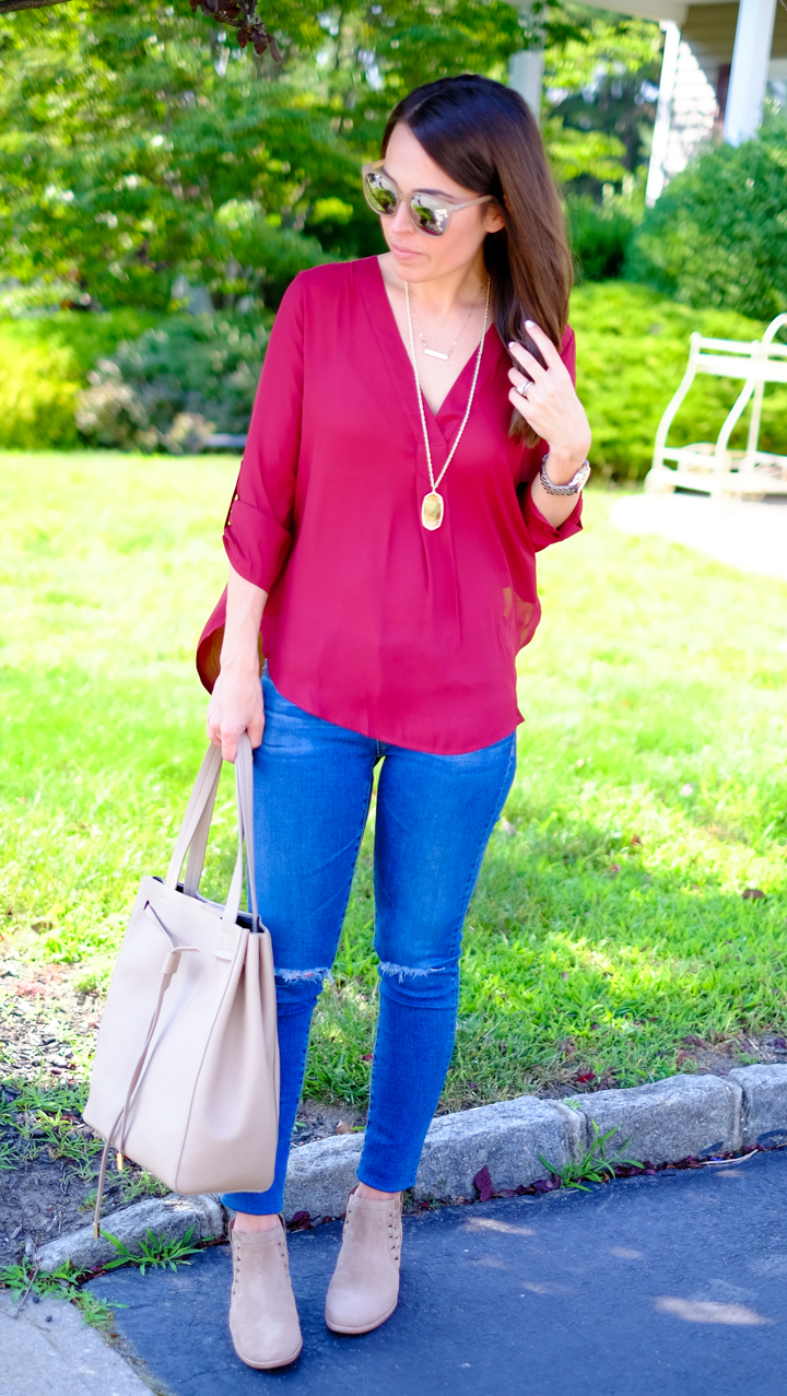 my fall go to outfit Lush tunic outfit Nordstrom mrscasual fashion blog