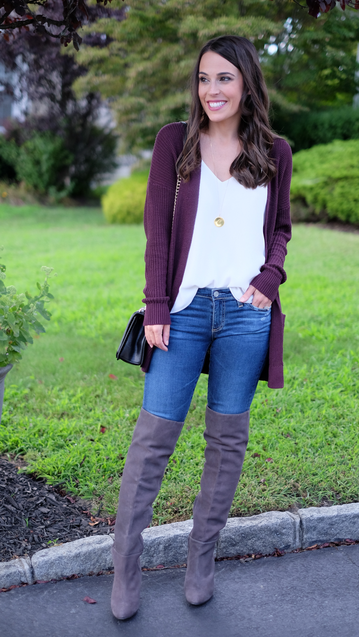 How To Wear Over The Knee Boots Mrscasual