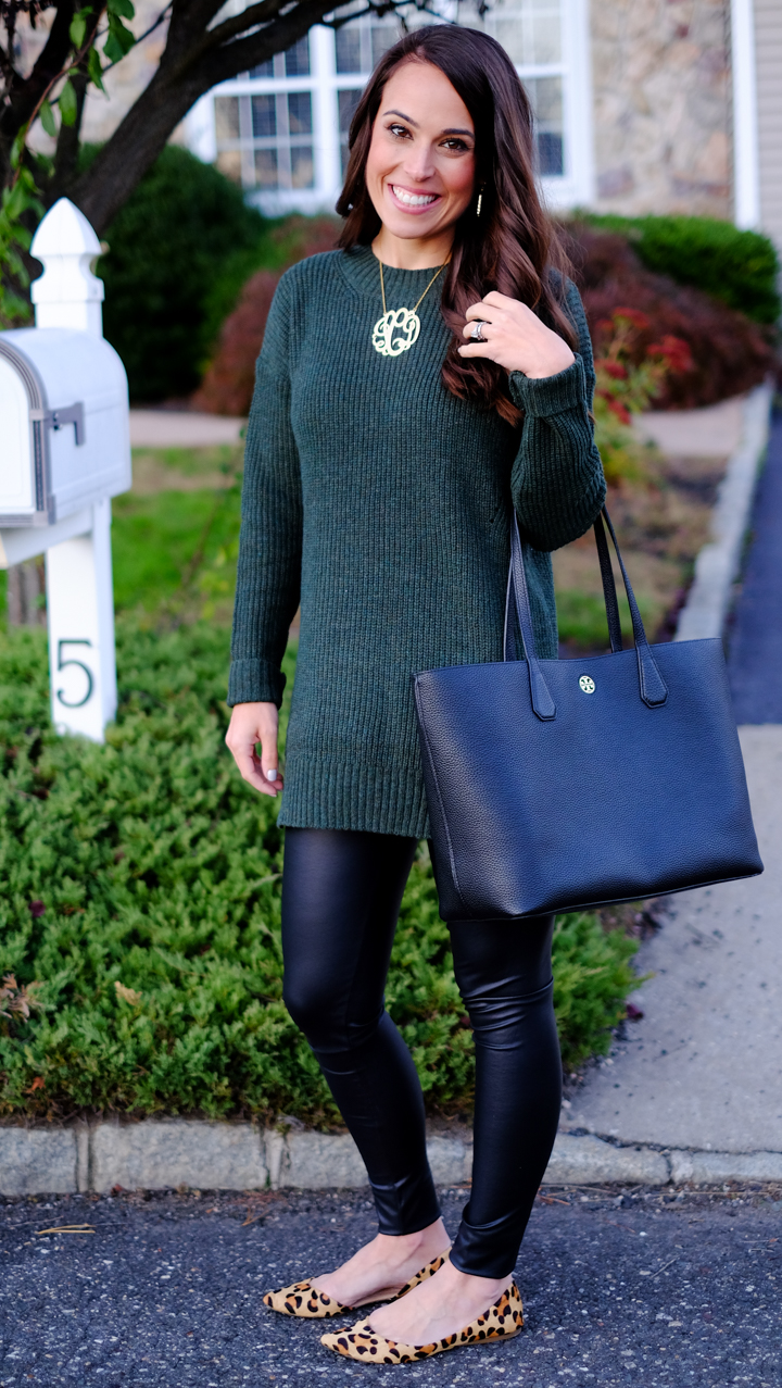 how to wear faux leather leggings  mrscasual