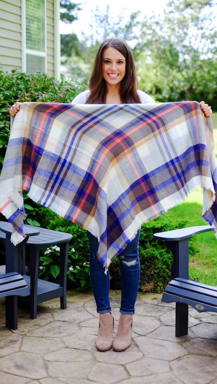 How To Tie A Blanket Scarf Mrscasual