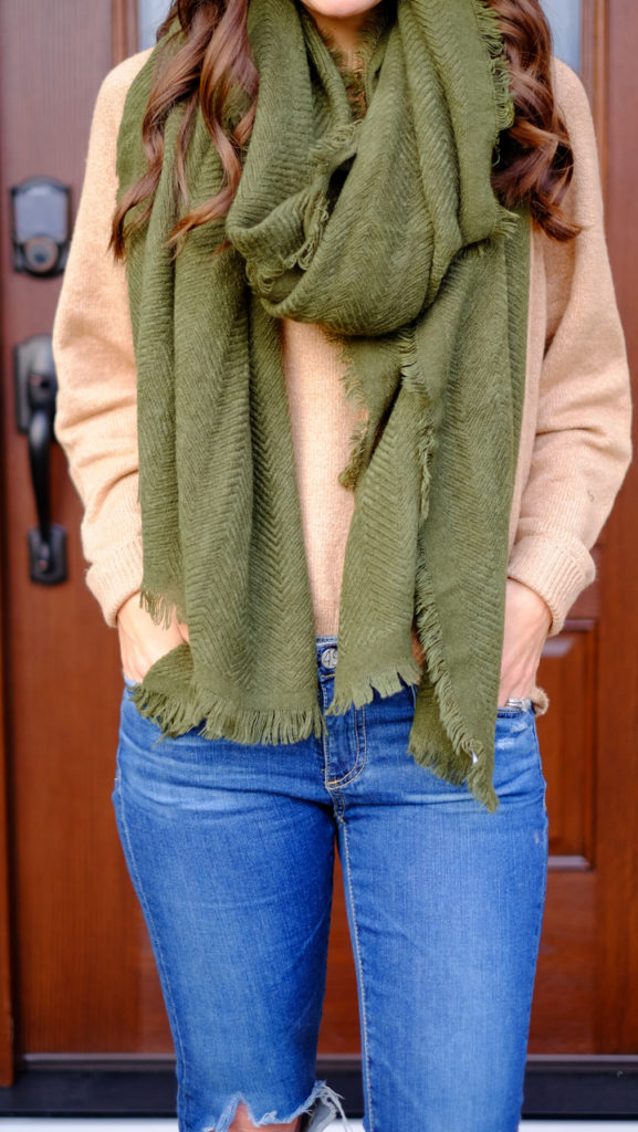 bp-green-scarf-outfit-fall-and-winter