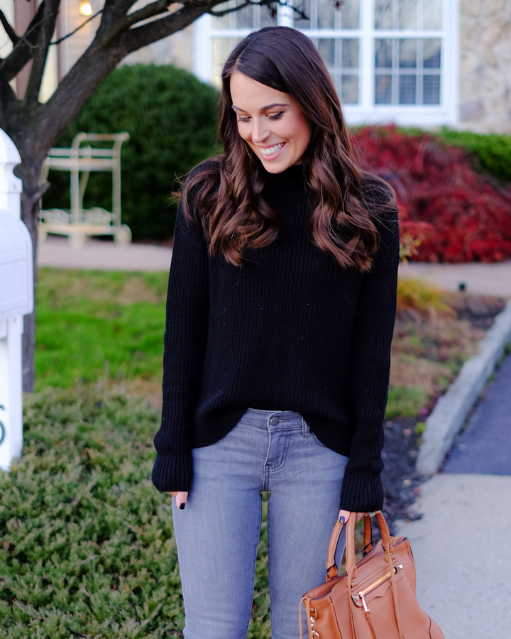 black-sweater-outfit