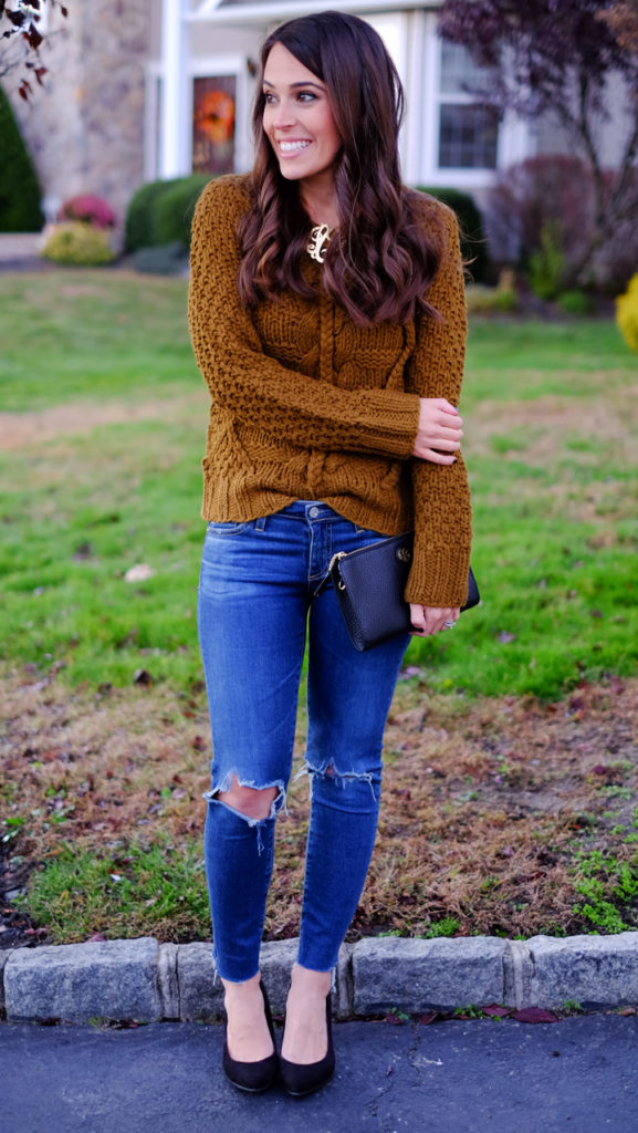 cable-knit-sweater-outfit