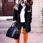 drape front coat