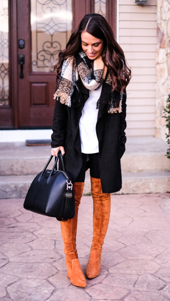 black jacket outfit