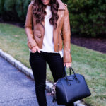 best faux leather jacket