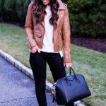 best faux leather jacket