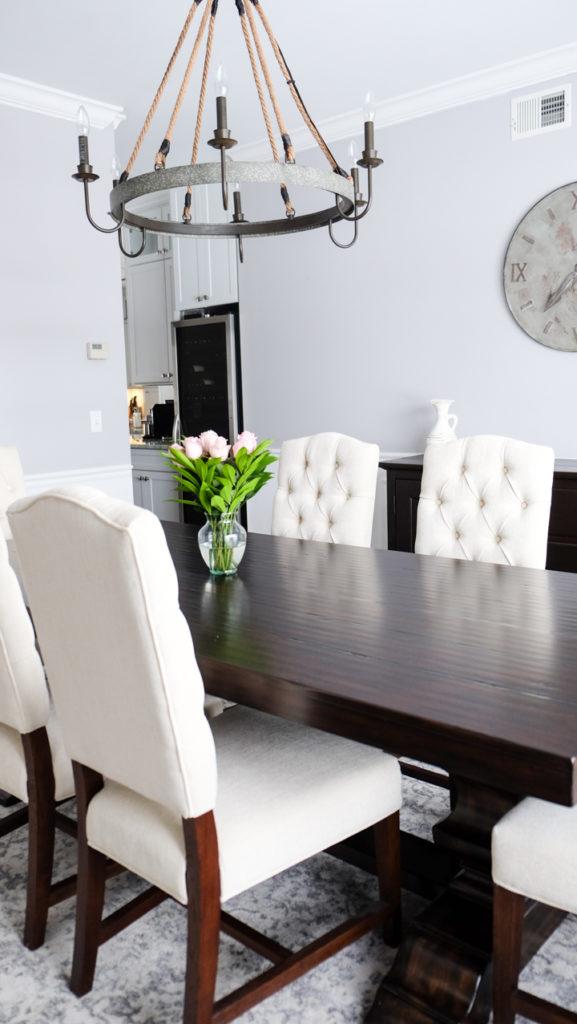 ashton tufted dining chairs idea