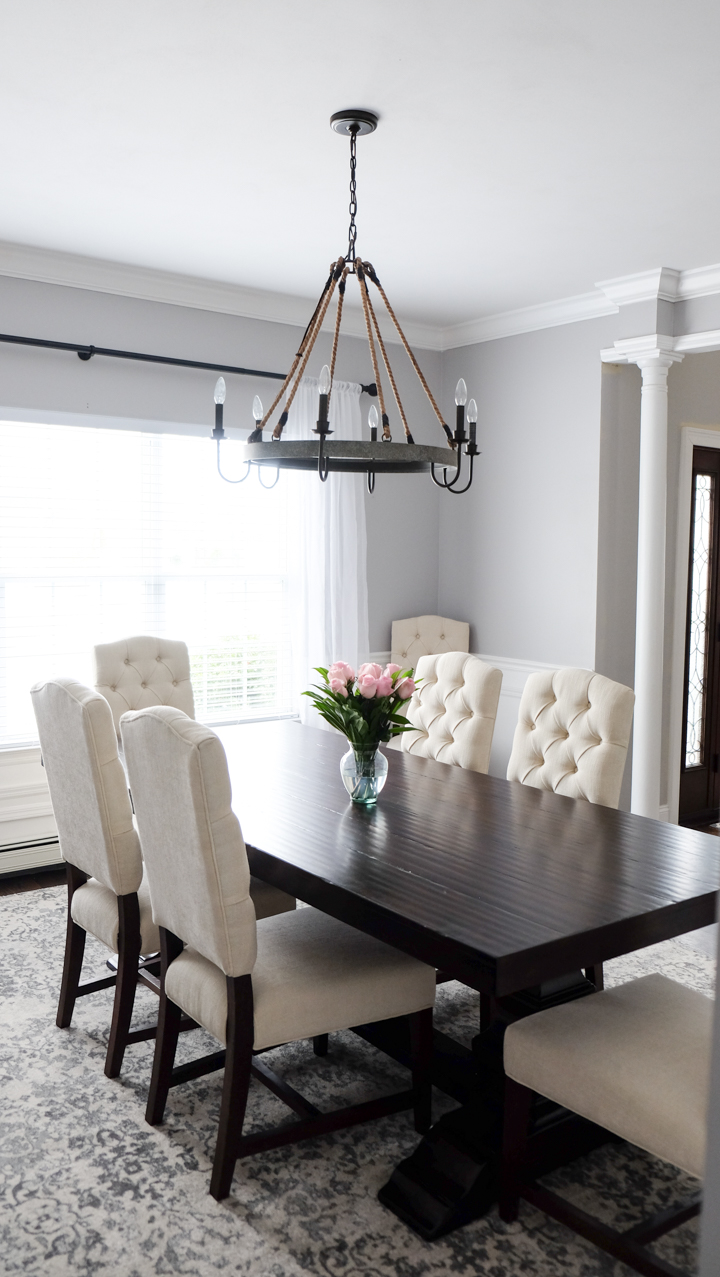 Formal dining room decorating ideas with rug style