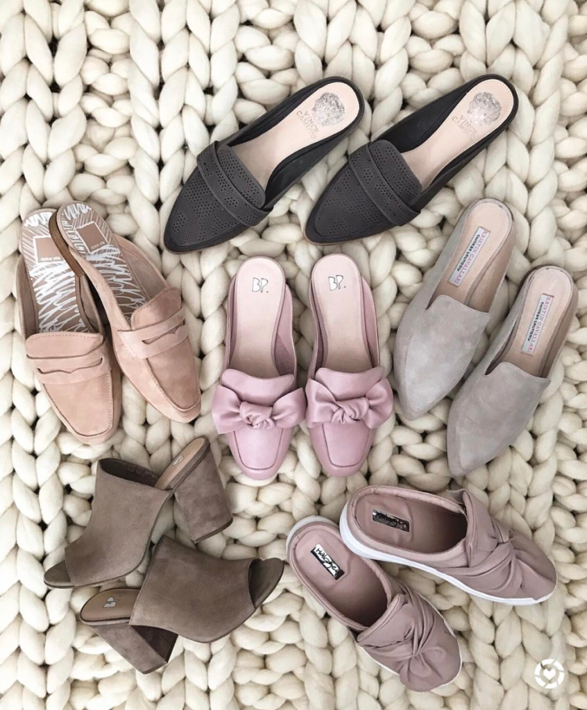 Mules slides and sandals for Spring
