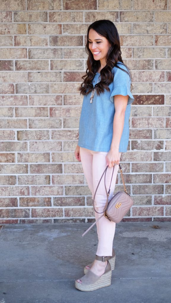 marc fisher wedge espadrille outfit