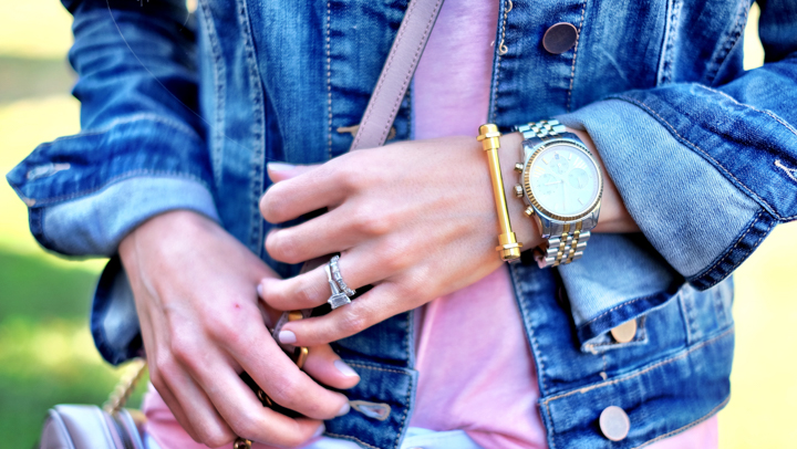the styled collection screw bracelet