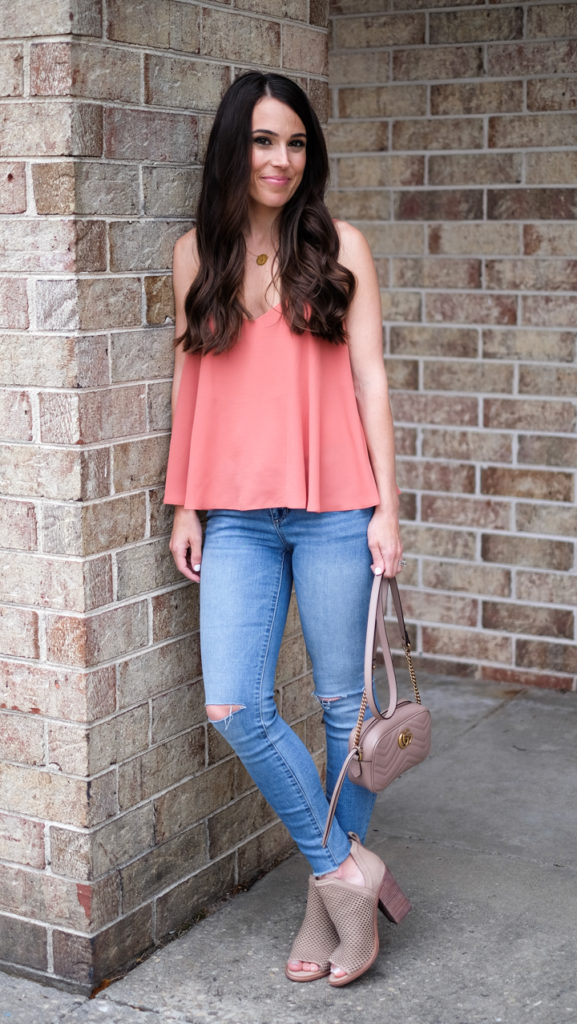 Summer camisole outfit