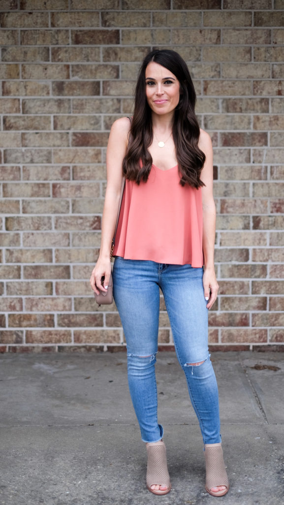 Topshop cami outfit