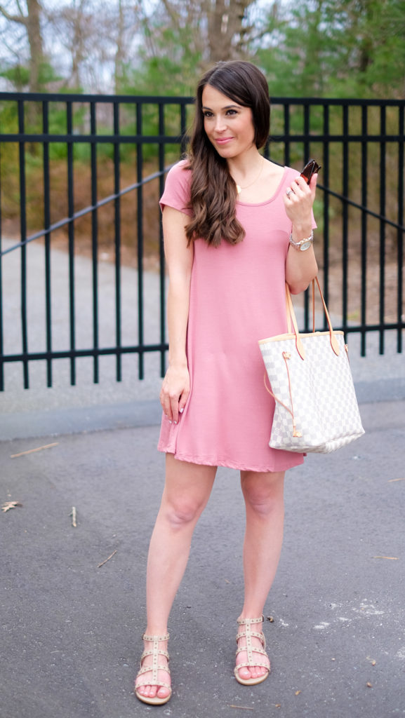 casual spring and summer dress