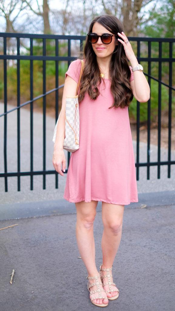 socialite blush dress