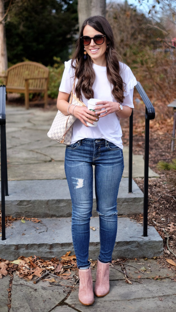 weekend casual spring outfit