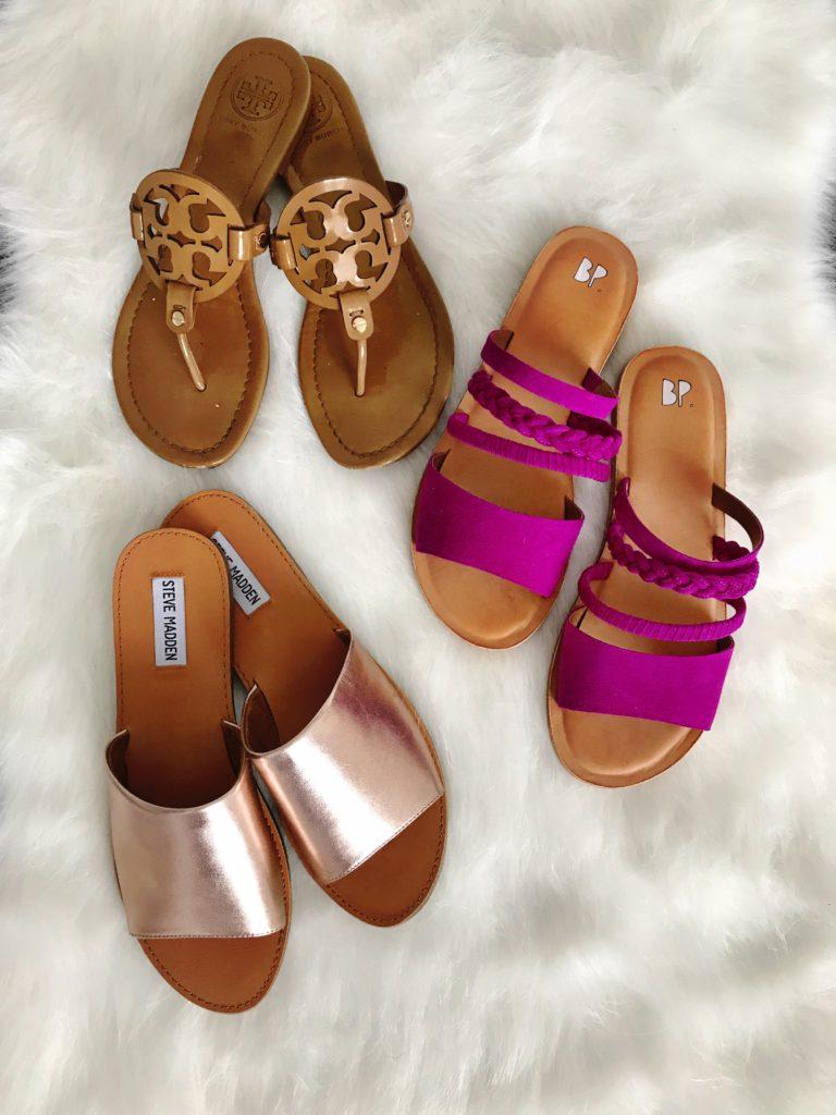 Flat Slip on Sandals