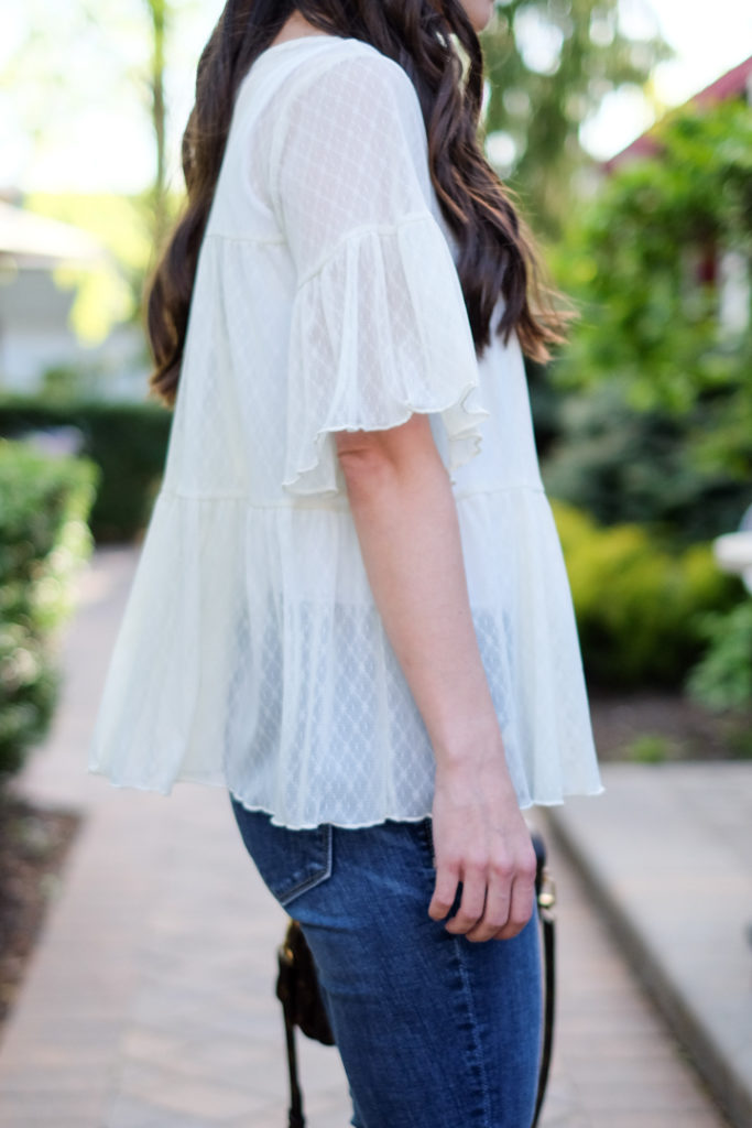 lace spring top