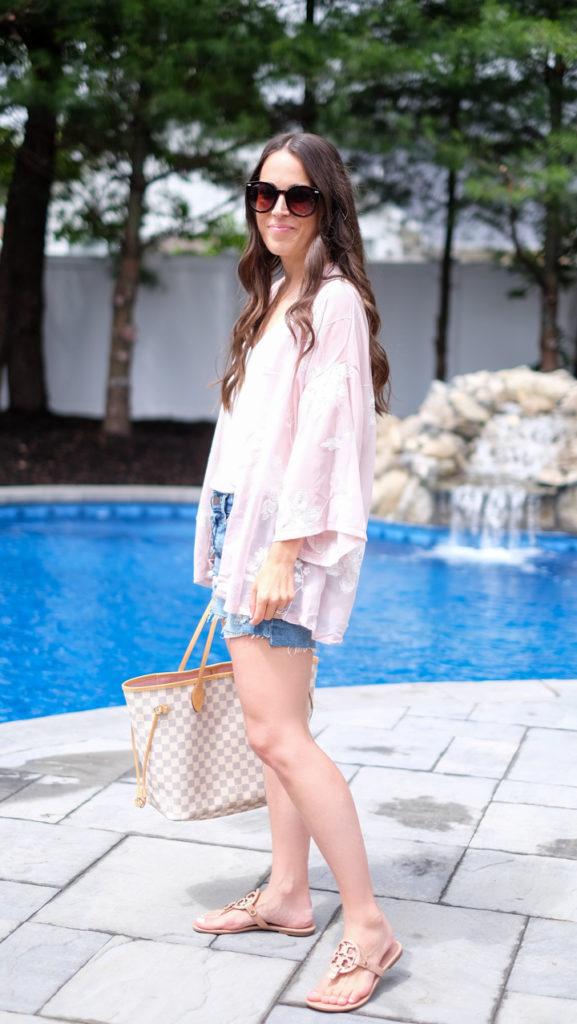 Easy Summer Kimono outfit