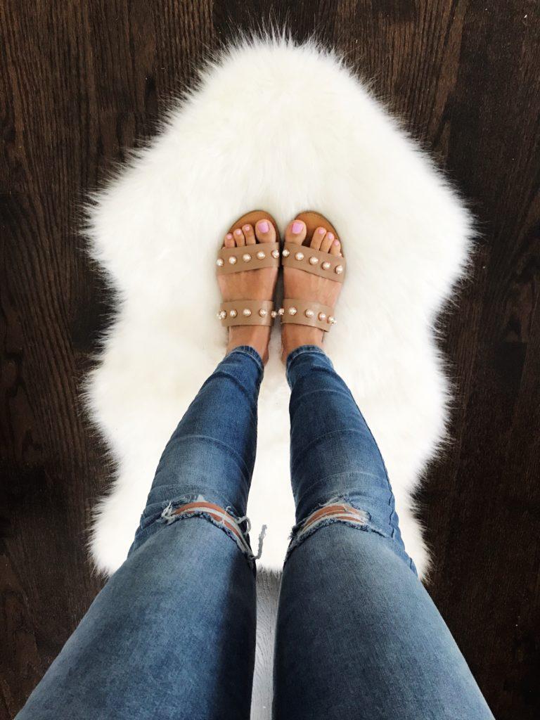 Steve Madden Jole Embellished Slide Sandal