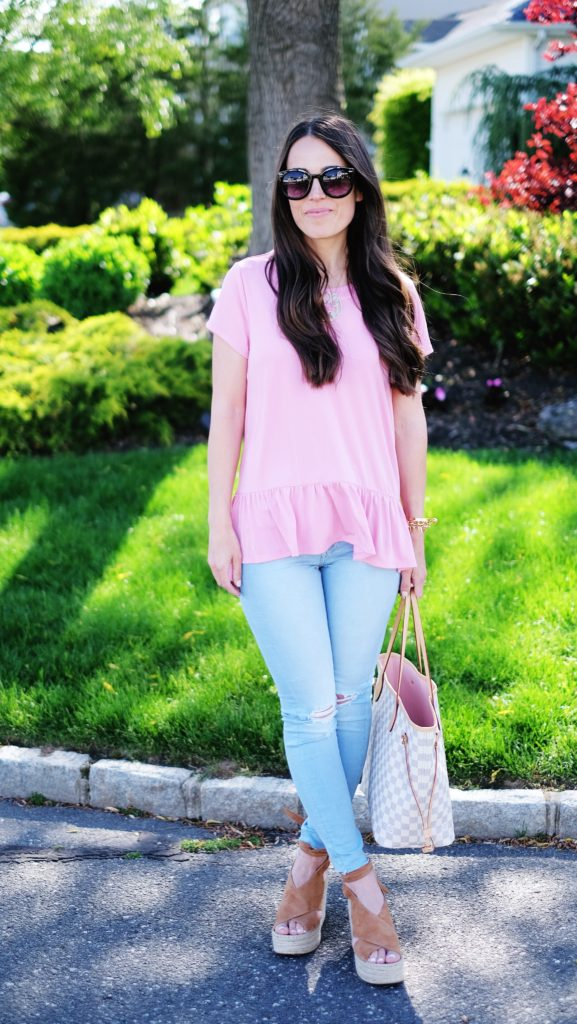 ankle strap espadrille outfit
