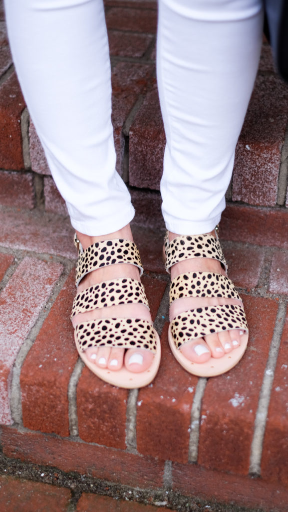 matisse leopard sandals