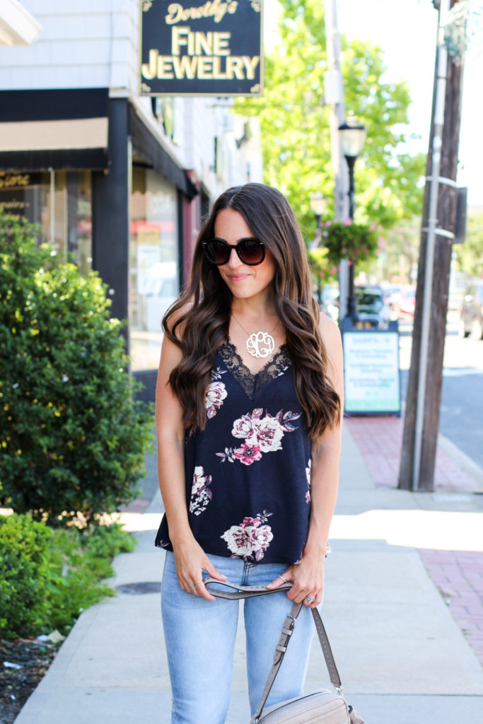 Mrs Casual floral cami