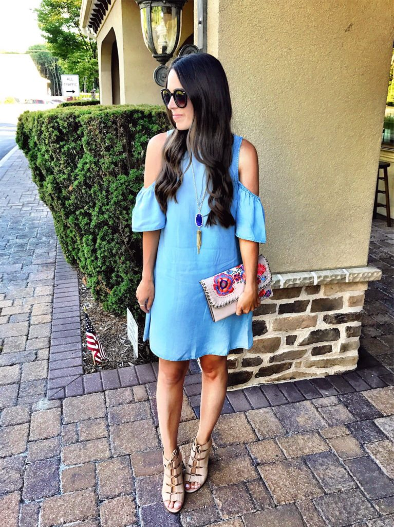 Summer chambray dress