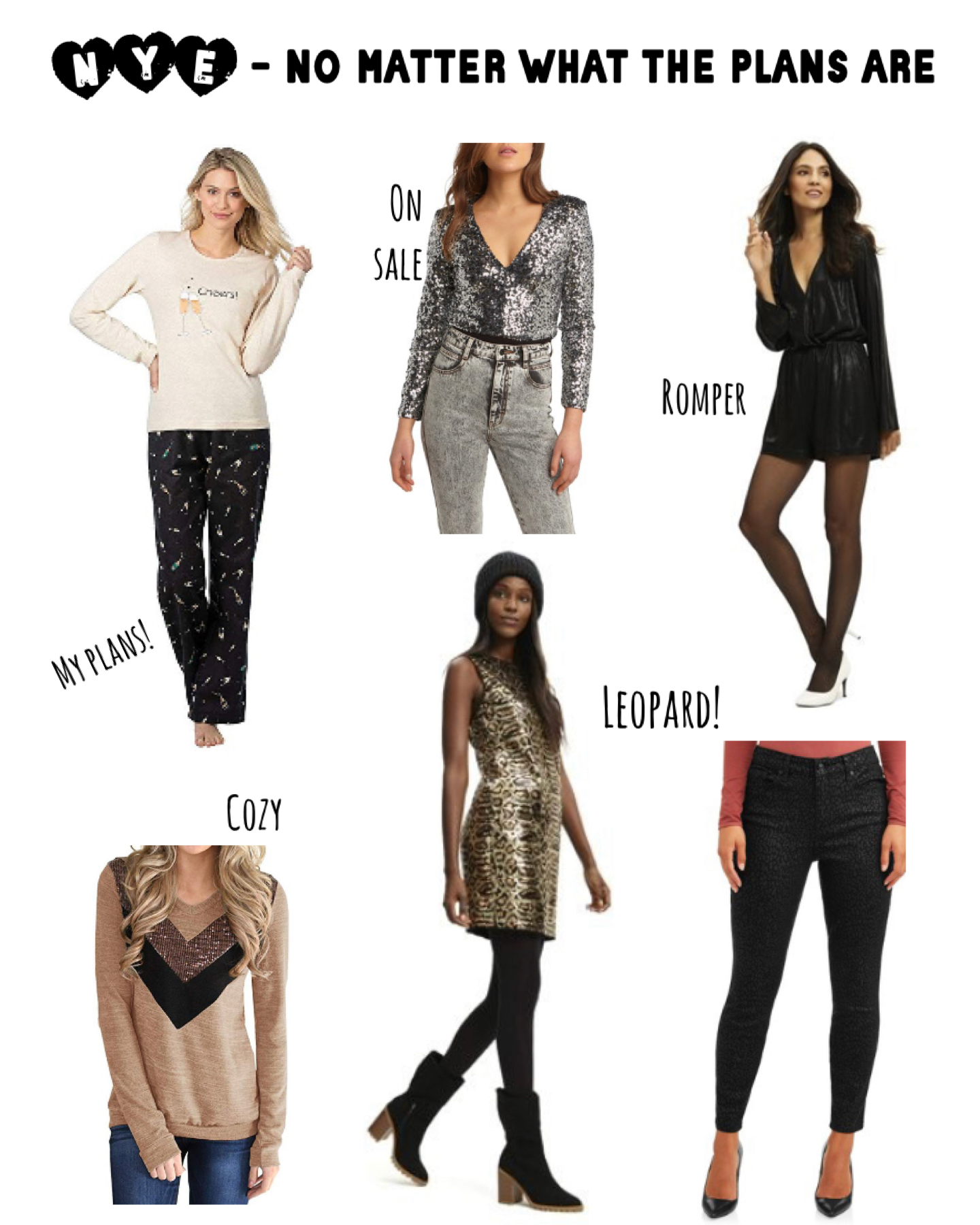 NYE Outfit Ideas No Matter What the